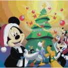 DISNEY MICKEY MOUSE CHRISTMAS TREE CROSS STITCH PATTERN PDF ONLY