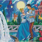 DISNEY CINDERELLA #1 CROSS STITCH PATTERN PDF ONLY