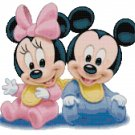 DISNEY BABIES #2 CROSS STITCH PATTERN PDF ONLY