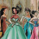 DISNEY PRINCESS DESIGNER GOWN #3 CROSS STITCH PATTERN PDF ONLY