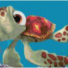 DISNEY FINDING NEMO SQUIRT #3 CROSS STITCH PATTERN PDF ONLY