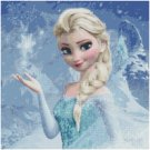 DISNEY FROZEN ELSA #5 CROSS STITCH PATTERN PDF ONLY