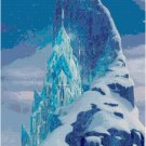 DISNEY FROZEN ICE CASTLE CROSS STITCH PATTERN PDF ONLY