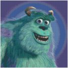 DISNEY MONSTERS INC SULLY CROSS STITCH PATTERN PDF ONLY