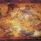 DISNEY PETER PAN NEVER NEVER LAND MAP CROSS STITCH PATTERN PDF ONLY