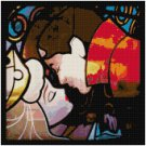 DISNEY SLEEPING BEAUTY STAINED GLASS #2 CROSS STITCH PATTERN PDF ONLY