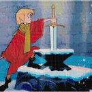 DISNEY SWORD IN THE STONE CROSS STITCH PATTERN PDF ONLY