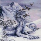 SNOW DRAGON CROSS STITCH PATTERN PDF ONLY