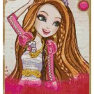 EVER AFTER HIGH HOLLY O HAIR  CROSS STITCH PATTERN PDF ONLY