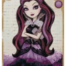 EVER AFTER HIGH RAVEN QUEEN  CROSS STITCH PATTERN PDF ONLY