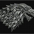GAME OF THRONES STARK CROSS STITCH PATTERN PDF ONLY