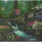 AFTERNOON REFLECTION - GARDEN CROSS STITCH PATTERN PDF ONLY