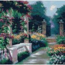 AFTERNOON REPOSE - GARDEN CROSS STITCH PATTERN PDF ONLY