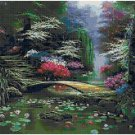 DOGWOOD MORNING - GARDEN CROSS STITCH PATTERN PDF ONLY