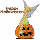 DISNEY TINKERBELL HALLOWEEN CROSS STITCH PATTERN PDF ONLY