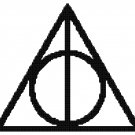 HARRY POTTER DEATHLY HOLLOWS  CROSS STITCH PATTERN PDF ONLY