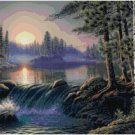 WATERFALL #3 CROSS STITCH PATTERN PDF ONLY
