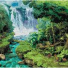 WATERFALL #5 CROSS STITCH PATTERN PDF ONLY