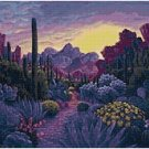 COLORFUL DESERT CROSS STITCH PATTERN PDF ONLY