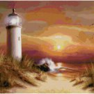 LIGHTHOUSE #2 LANDSCAPE CROSS STITCH PATTERN PDF ONLY