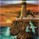 LIGHTHOUSE #3 LANDSCAPE CROSS STITCH PATTERN PDF ONLY