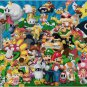 SUPER MARIO BROS MARIO AND FRIENDS  CROSS STITCH PATTERN PDF ONLY