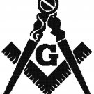 MASONIC LOGO CROSS STITCH PATTERN PDF ONLY