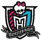 MONSTER HIGH #2 CROSS STITCH PATTERN PDF ONLY