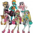 MONSTER HIGH #3 CROSS STITCH PATTERN PDF ONLY