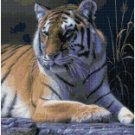 BENGAL TIGER CROSS STITCH PATTERN PDF ONLY