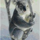 KOALA BEAR #2 CROSS STITCH PATTERN PDF ONLY
