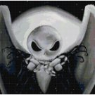 JACK SKELLINGTON NIGHTMARE BEFORE CHRISTMAS CROSS STITCH PATTERN PDF ONLY