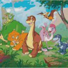 LAND BEFORE TIME CROSS STITCH PATTERN PDF ONLY