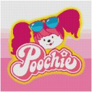 POOCHIE RETRO CROSS STITCH PATTERN PDF ONLY