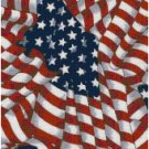 AMERICAN FLAG CROSS STITCH PATTERN PDF ONLY