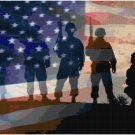 AMERICAN SOLDIERS CROSS STITCH PATTERN PDF ONLY