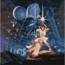 STAR WARS VINTAGE CROSS STITCH PATTERN PDF ONLY
