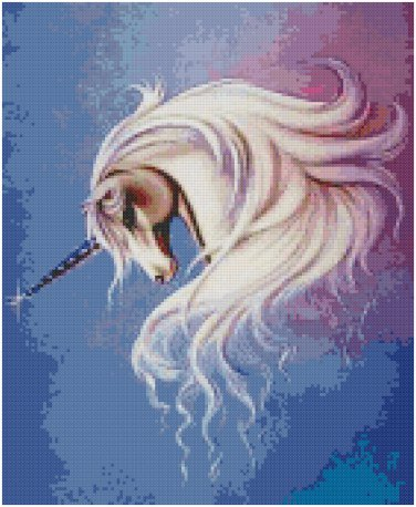 PASTEL UNICORN CROSS STITCH PATTERN PDF ONLY