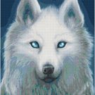 WHITE WOLF CROSS STITCH PATTERN PDF ONLY