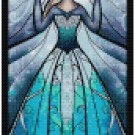 DISNEY ELSA FROZEN STAINED GLASS  CROSS STITCH PATTERN PDF ONLY