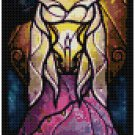 DISNEY ESMERELDA HUNCHBACK OF NOTRE DAME STAINED GLASS  CROSS STITCH PATTERN PDF ONLY