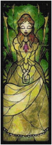 DISNEY JANE TARZAN STAINED GLASS  CROSS STITCH PATTERN PDF ONLY
