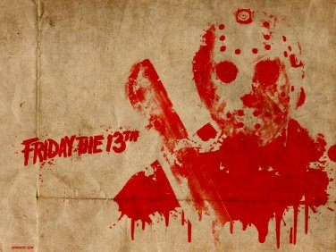 FRIDAY THE 13TH #1 CROSS STITCH PATTERN PDF ONLY