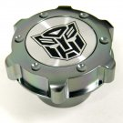 AUTOBOT TRANSFORMERS BILLET GUNMETAL OIL CAP FOR GM CHEVY LS1 LS2 LS3 LS6 CAMARO CORVETTE TRANSAM