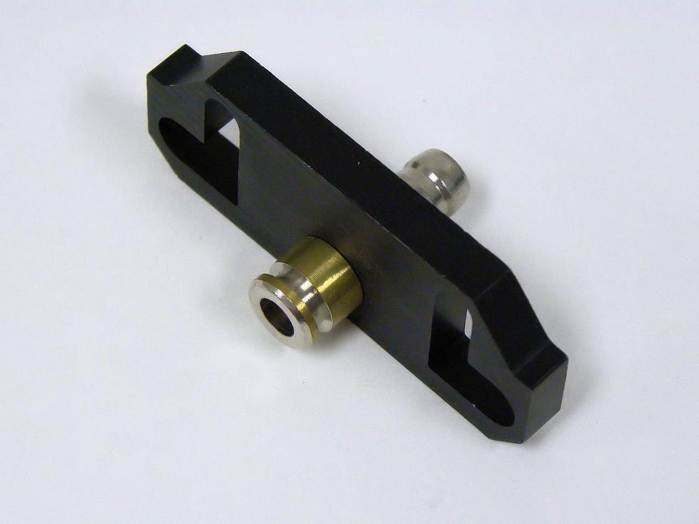 MAZDA RACING FUEL PRESSURE REGULATOR RAIL ADAPTER RISER - BLACK #2