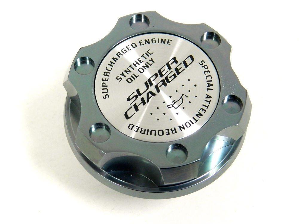 GUNMETAL SUPERCHARGED BILLET CNC RACING ENGINE OIL FILLER CAP FOR TOYOTA SCION