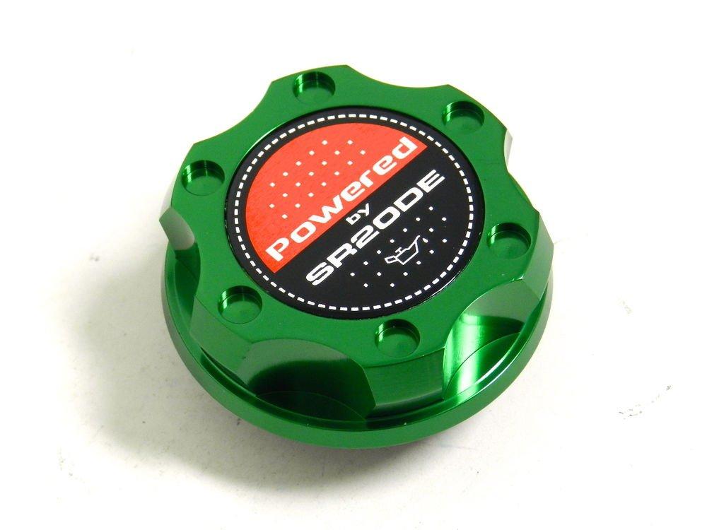 GREEN BILLET RACING ENGINE OIL FILLER CAP NISSAN 240SX SENTRA ALTIMA SR20DE