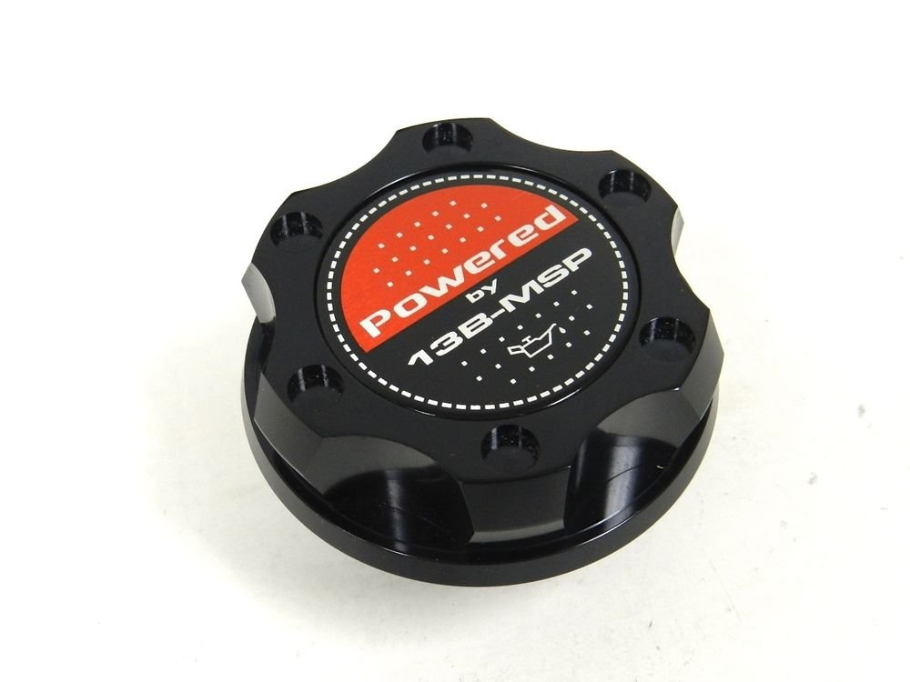 BLACK BILLET RACING ENGINE OIL FILLER CAP MAZDA RX7 RX8 13B-MSP