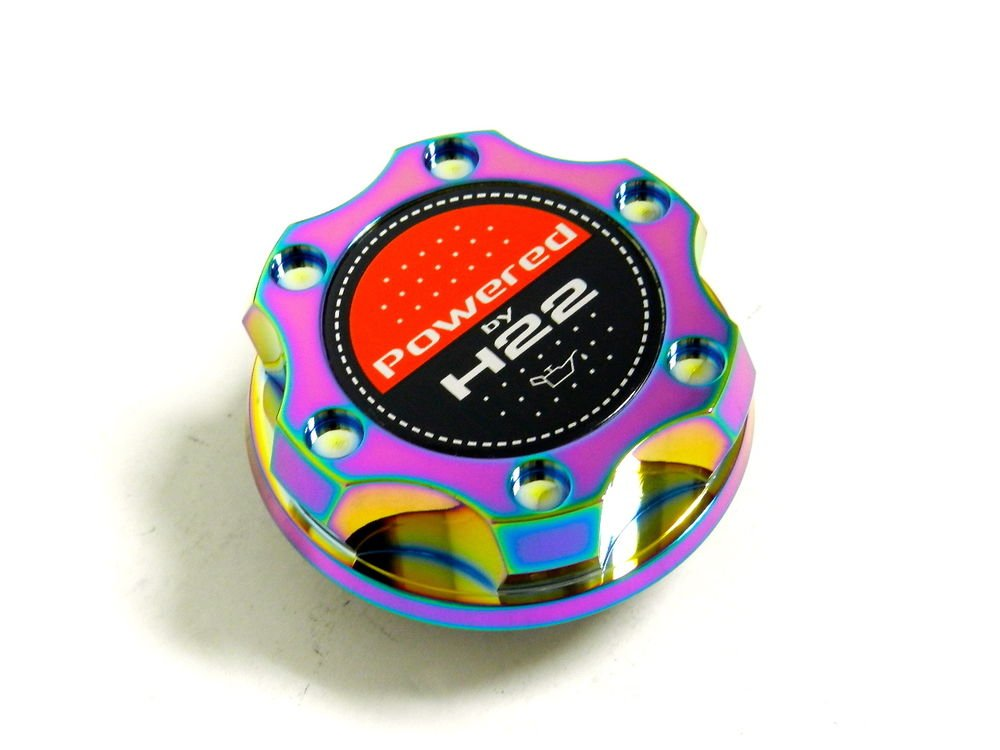 NEO CHROME BILLET CNC RACING ENGINE OIL FILLER CAP HONDA PRELUDE H22