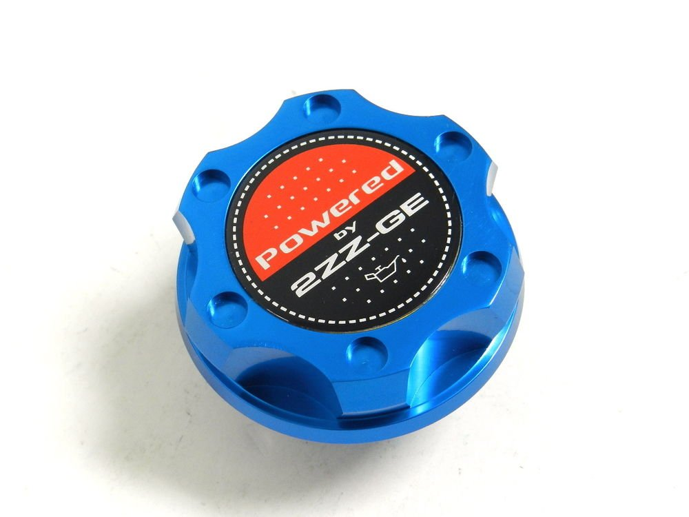 BLUE BILLET CNC RACING ENGINE OIL FILLER CAP TOYOTA COROLLA CELICA 2ZZGE